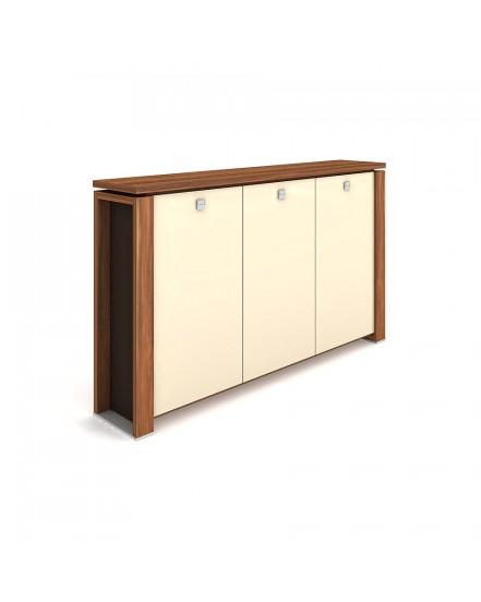 skrin tridverova s vesakem sklenene dvere 3 - Delso - dětský, kancelářský a bytový nábytek