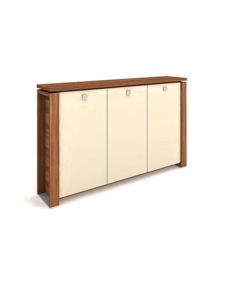 skrin tridverova s vesakem sklenene dvere 4 - Delso - dětský, kancelářský a bytový nábytek