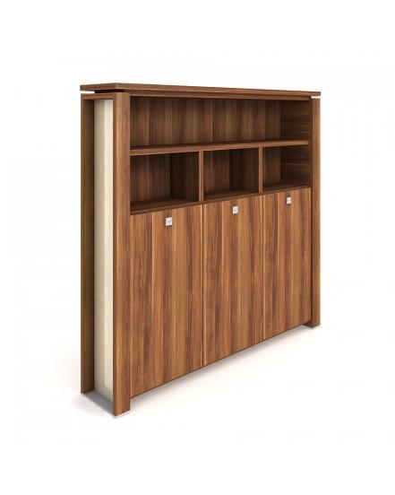 skrin tridverova s vesakem zavrena otevrena 1 - Delso - dětský, kancelářský a bytový nábytek