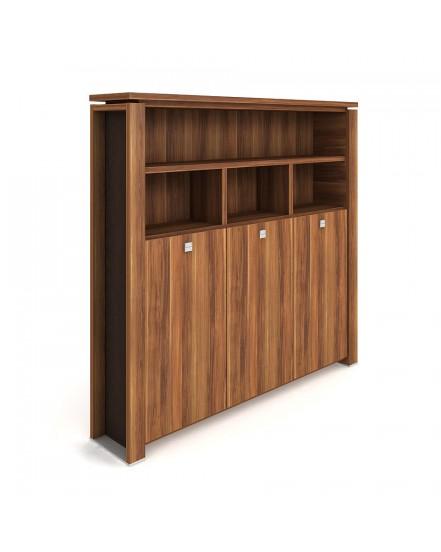 skrin tridverova s vesakem zavrena otevrena 2 - Delso - dětský, kancelářský a bytový nábytek