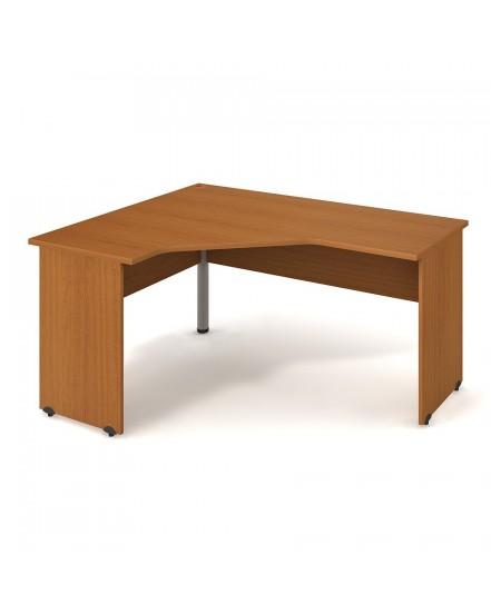 stul ergo pravy 160120cm 1 - Delso - dětský, kancelářský a bytový nábytek