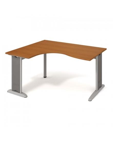 stul ergo pravy 160120cm 11 - Delso - dětský, kancelářský a bytový nábytek
