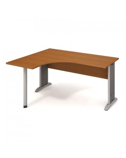 stul ergo pravy 160120cm 3 - Delso - dětský, kancelářský a bytový nábytek