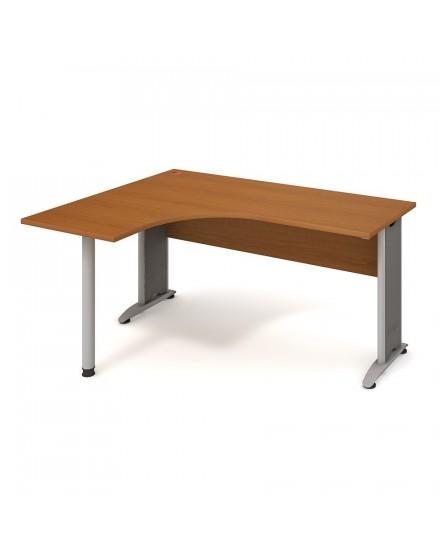 stul ergo pravy 160120cm 6 - Delso - dětský, kancelářský a bytový nábytek