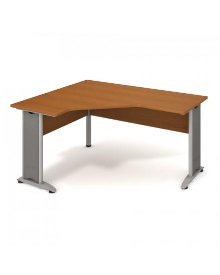 stul ergo pravy 160120cm 7 - Delso - dětský, kancelářský a bytový nábytek