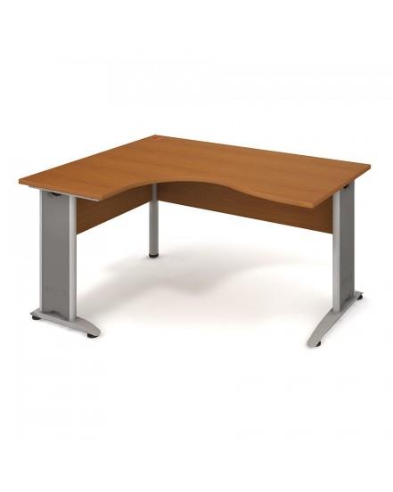 stul ergo pravy 160120cm 8 - Delso - dětský, kancelářský a bytový nábytek