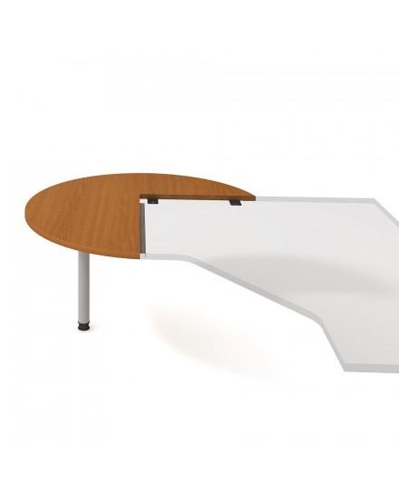 stul jednaci levy napric pr120cm - Delso - dětský, kancelářský a bytový nábytek