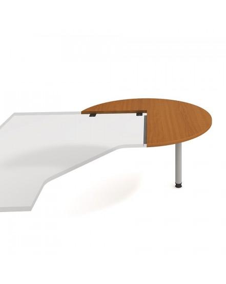 stul jednaci pravy napric pr120cm - Delso - dětský, kancelářský a bytový nábytek