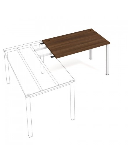 stul pracovni delky 120 cm k retezeni - Delso - dětský, kancelářský a bytový nábytek