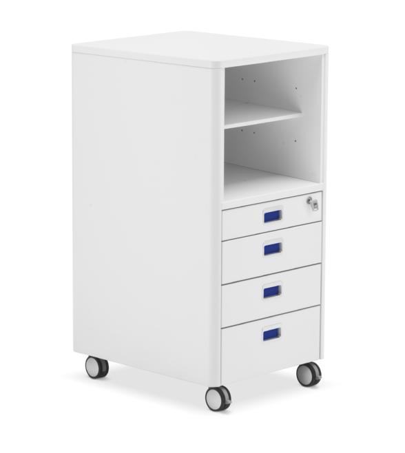 CUBIC MAX kontejner k rostoucimu stolu Moll - Delso - dětský, kancelářský a bytový nábytek