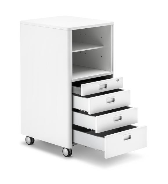 CUBIC MAX kontejner k rostoucimu stolu Moll 2 - Delso - dětský, kancelářský a bytový nábytek