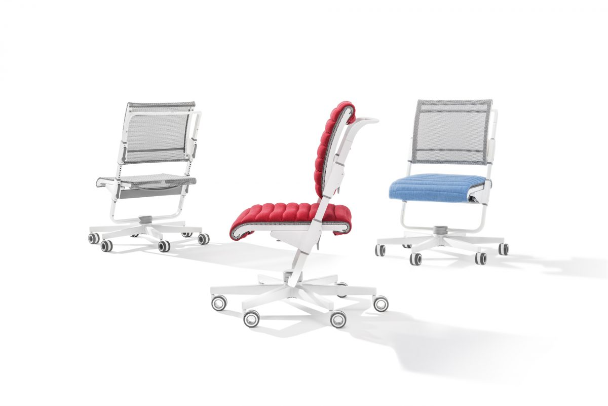 Luxusni rostouci zidle Moll S6 4 - Delso - dětský, kancelářský a bytový nábytek