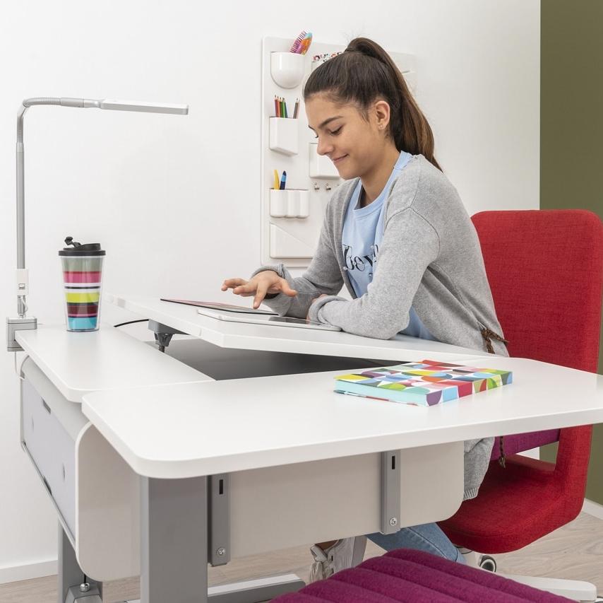 SIDE TOP Bocni pristavba k rostoucimu stolu Champion 3 - Delso - dětský, kancelářský a bytový nábytek