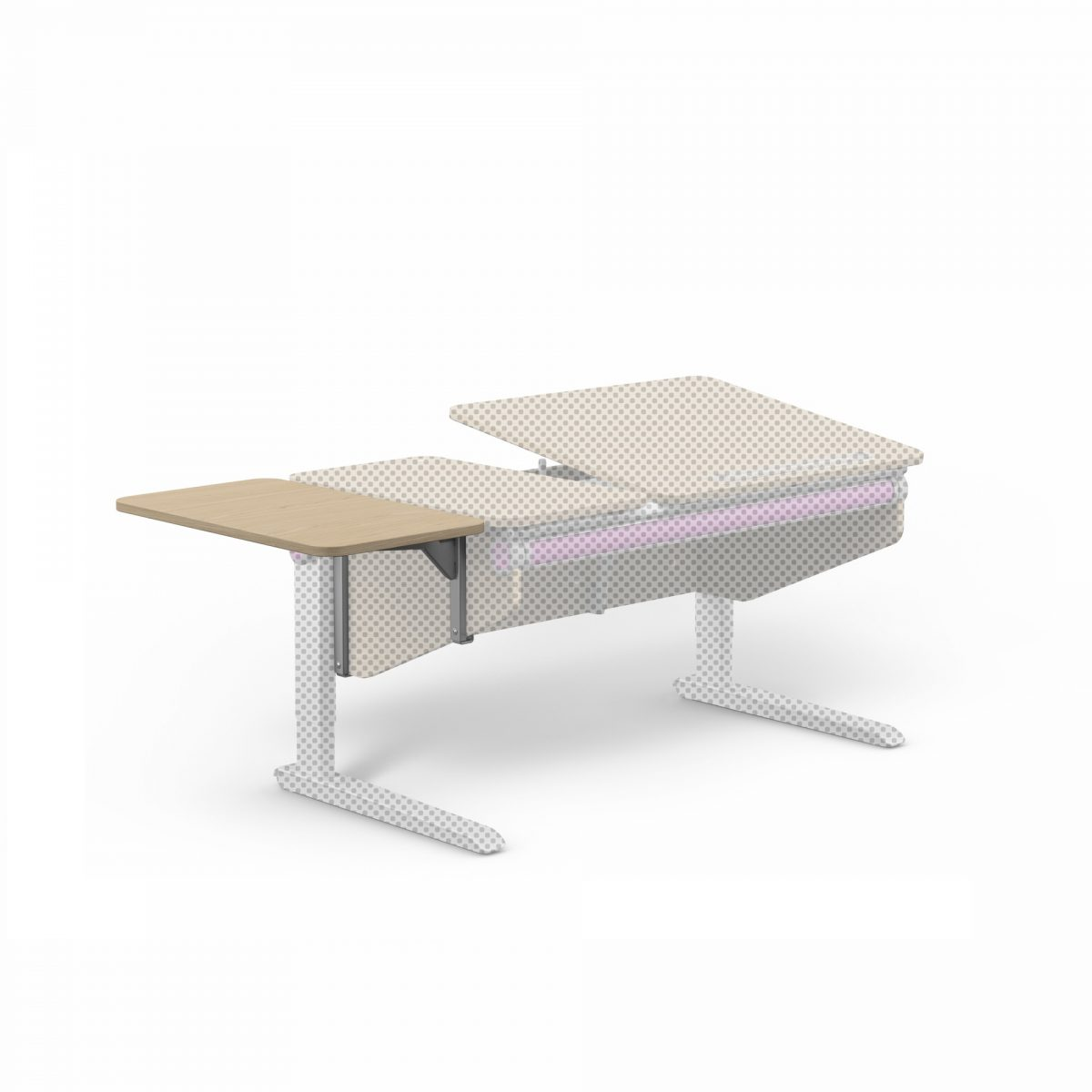 Side top pristavba k detskemu rostoucimu stolu Winner 1 - Delso - dětský, kancelářský a bytový nábytek