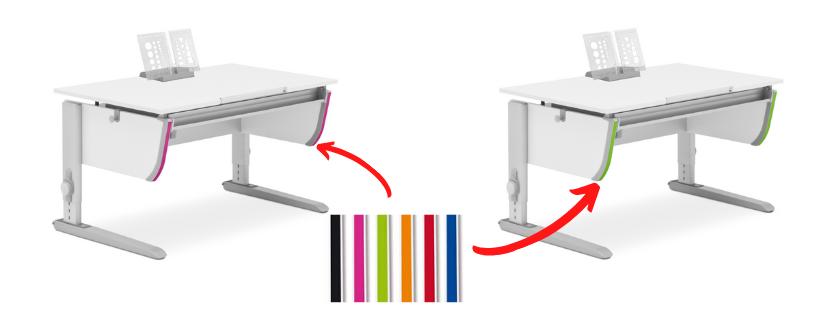Vymenitelne barevne doplnky Joker - Delso - dětský, kancelářský a bytový nábytek
