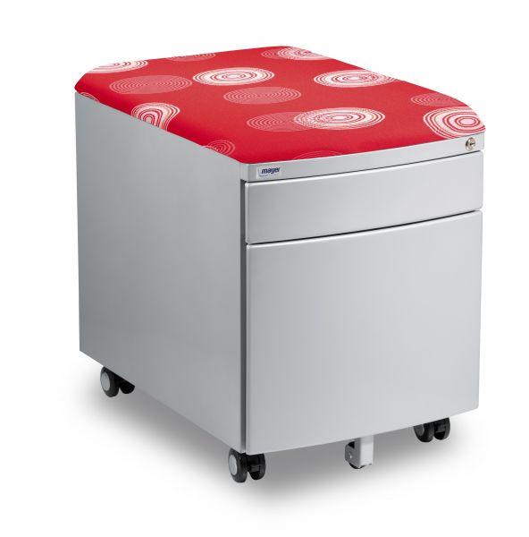 kontejner mayer cerveny - Delso - dětský, kancelářský a bytový nábytek