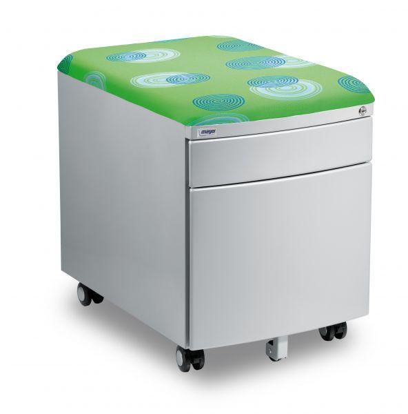 kontejner mayer zeleny - Delso - dětský, kancelářský a bytový nábytek
