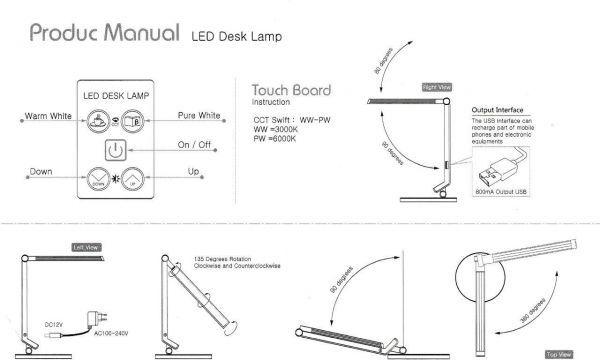 led lampa mayer 2 - Delso - dětský, kancelářský a bytový nábytek