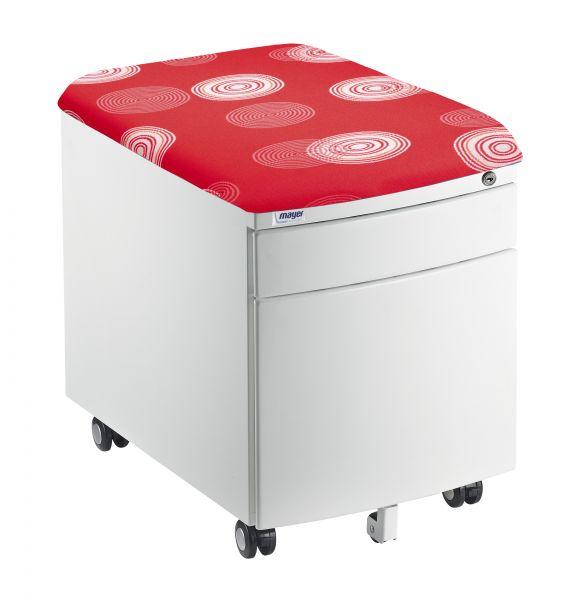 mayer kontejner cerveny 1 - Delso - dětský, kancelářský a bytový nábytek
