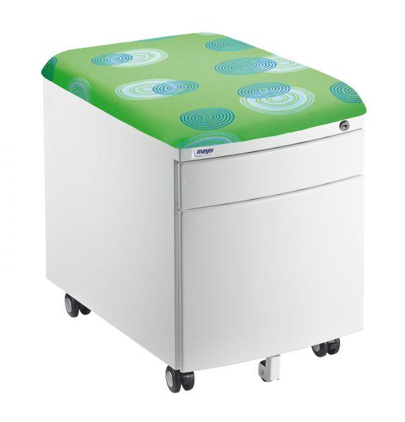 mayer kontejner zeleny - Delso - dětský, kancelářský a bytový nábytek