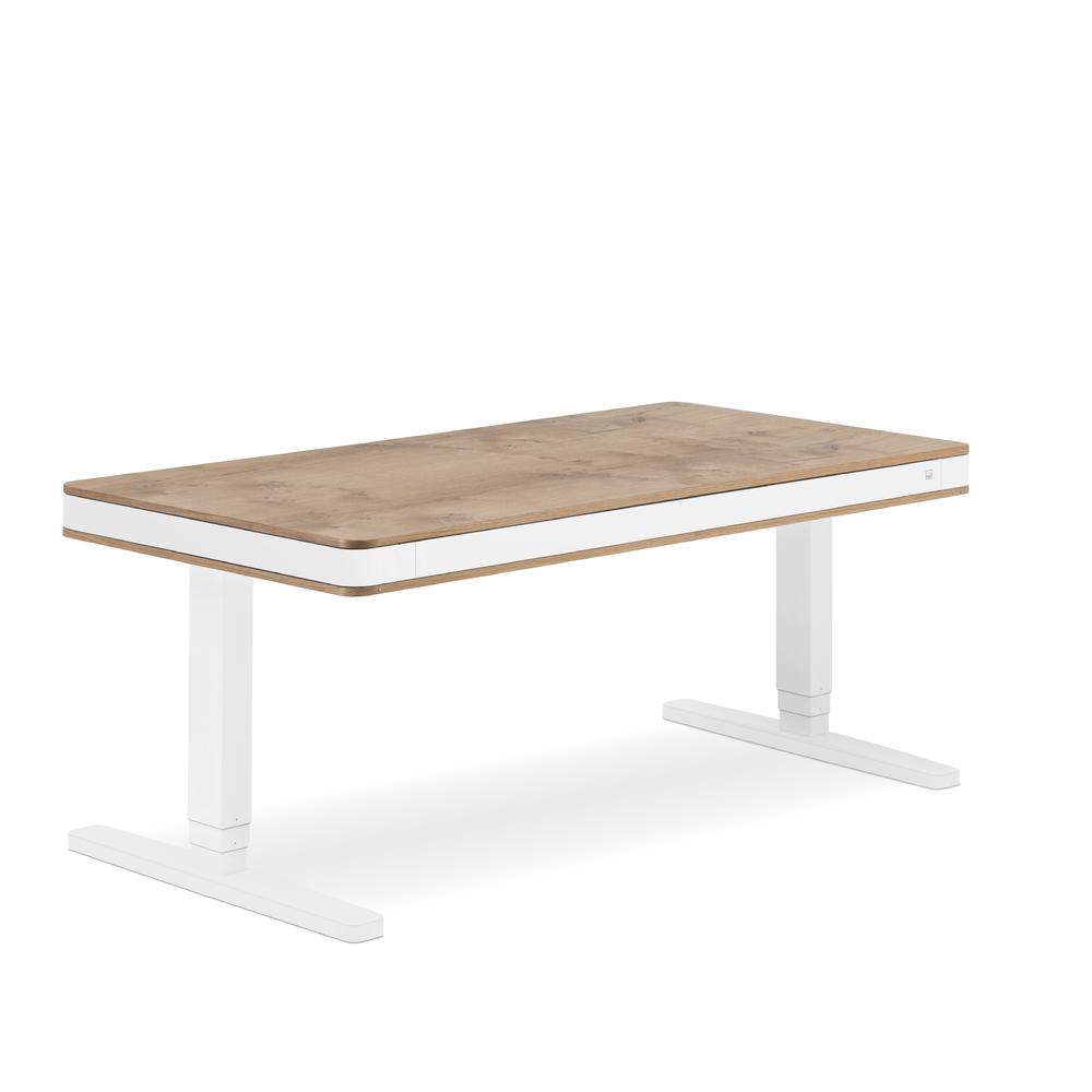 Designschreibtisch moll T7 XL exklusive Eiche - Delso - dětský, kancelářský a bytový nábytek
