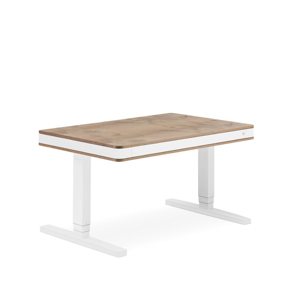 Designschreibtisch moll T7 exklusive Eiche - Delso - dětský, kancelářský a bytový nábytek
