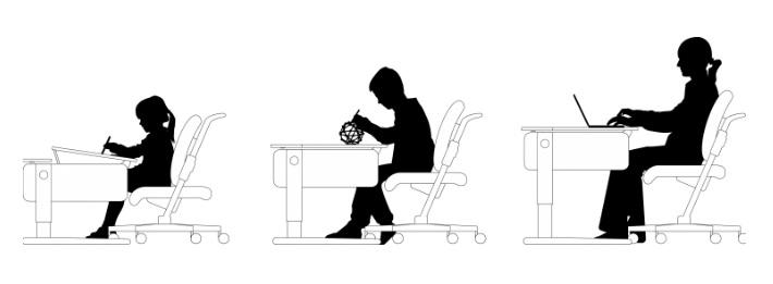 ergonomické naklonění desky champion