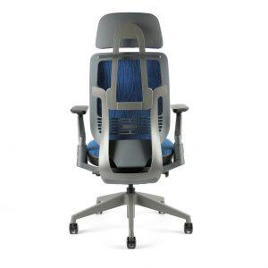 kancelarska zidle Karme Mesh a 07 modra zihana 2 - Delso - dětský, kancelářský a bytový nábytek