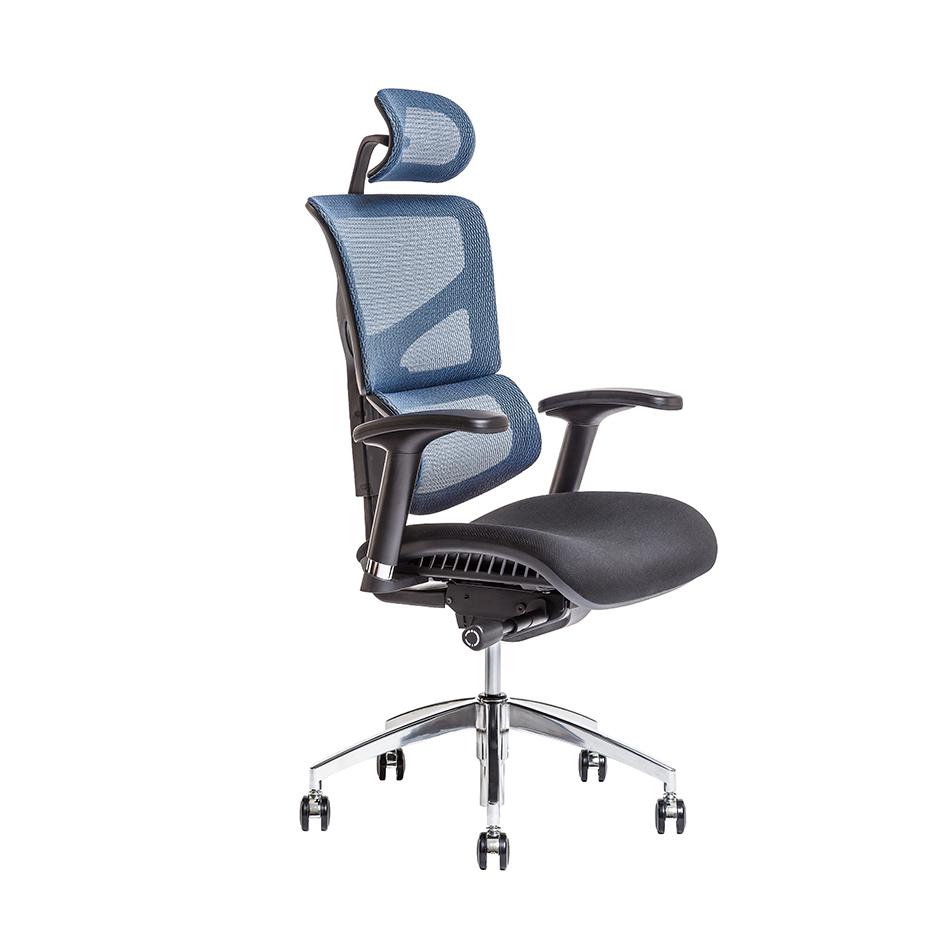 kancelarska zidle Merope SP modra IW 04 - Delso - dětský, kancelářský a bytový nábytek