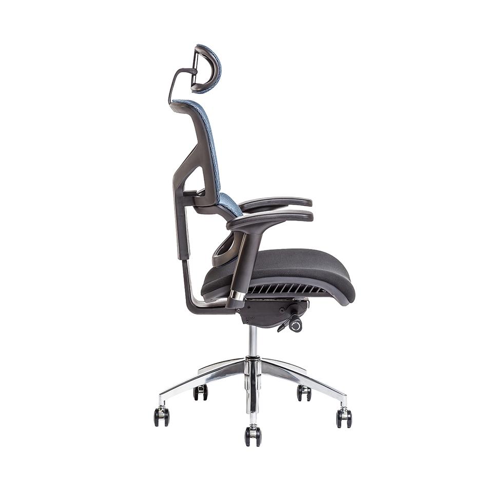 kancelarska zidle Merope SP modra IW 04 1 - Delso - dětský, kancelářský a bytový nábytek