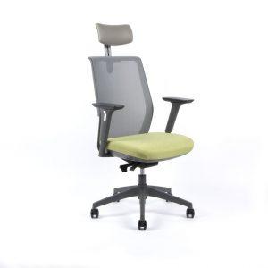 kancelarska zidle Portia zelena - Delso - dětský, kancelářský a bytový nábytek