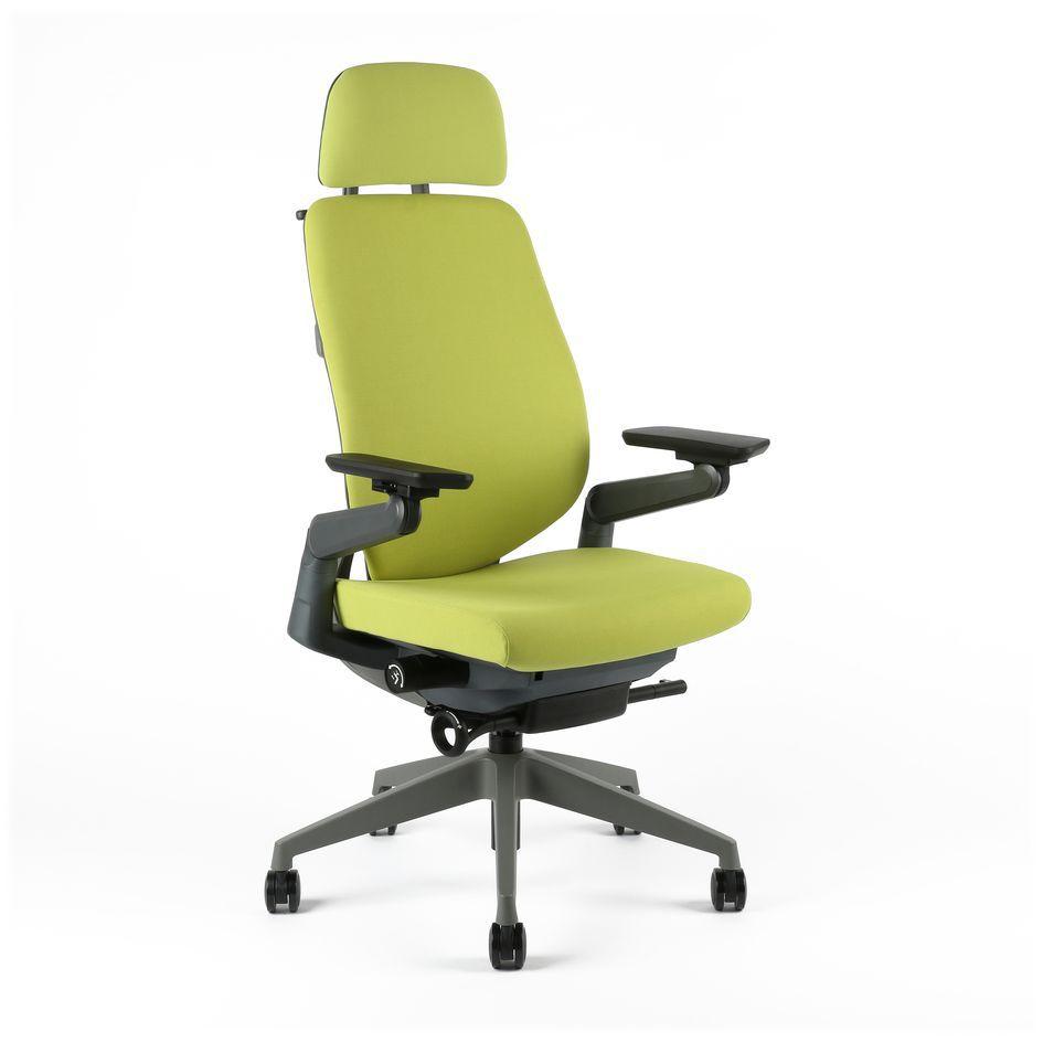 kancelarska zidle karme F 01 zelena - Delso - dětský, kancelářský a bytový nábytek