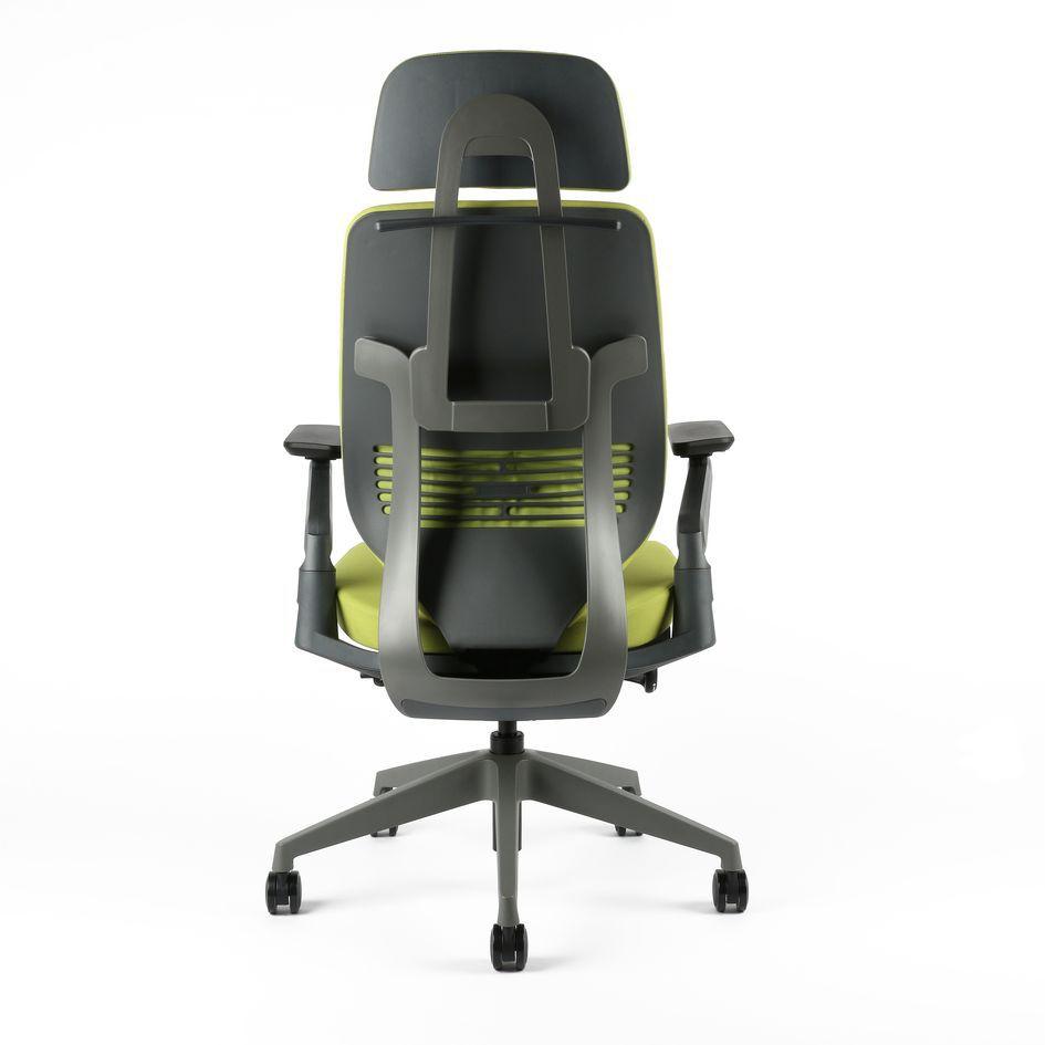 kancelarska zidle karme F 01 zelena 2 - Delso - dětský, kancelářský a bytový nábytek