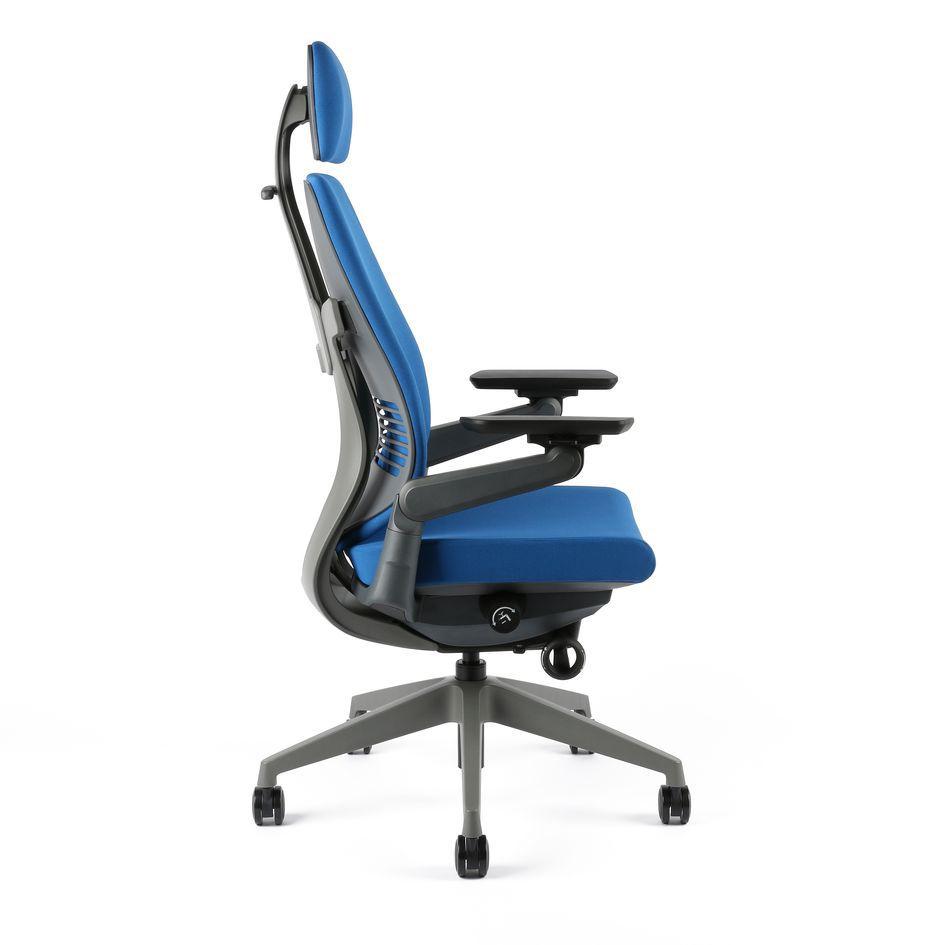 kancelarska zidle karme F 03 modra 1 - Delso - dětský, kancelářský a bytový nábytek