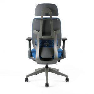 kancelarska zidle karme F 03 modra 2 - Delso - dětský, kancelářský a bytový nábytek