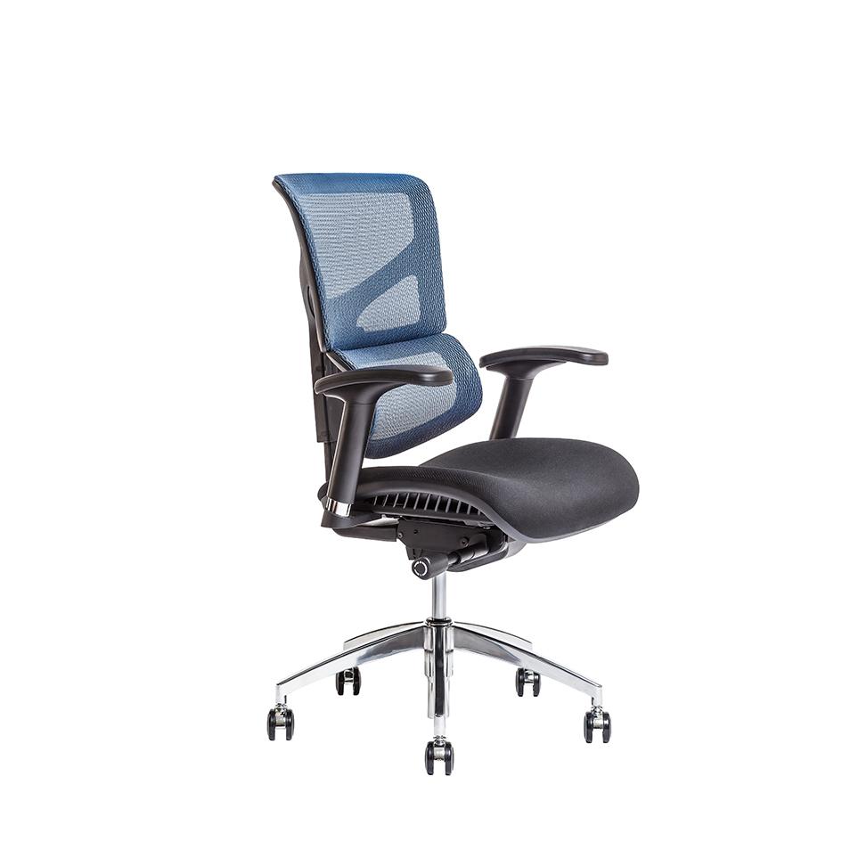 kancelarska zidle merope BP modra IW04 - Delso - dětský, kancelářský a bytový nábytek