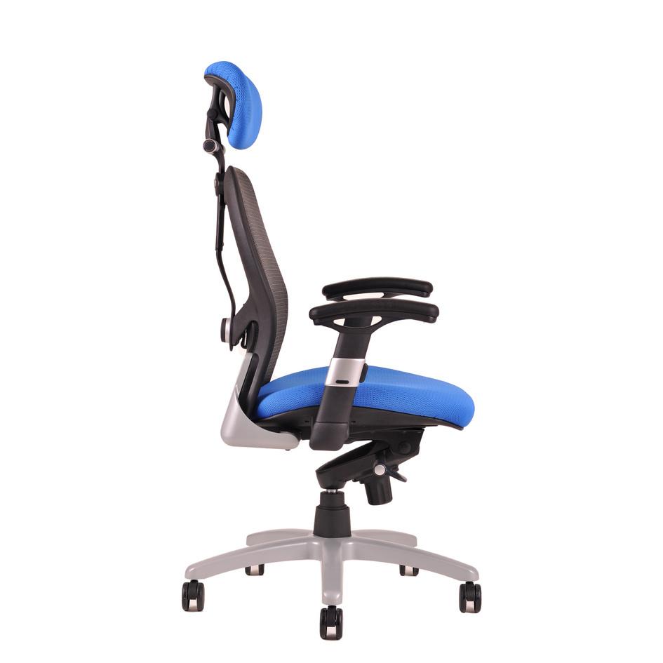 kancelarska zidle saturn net modra 1 - Delso - dětský, kancelářský a bytový nábytek