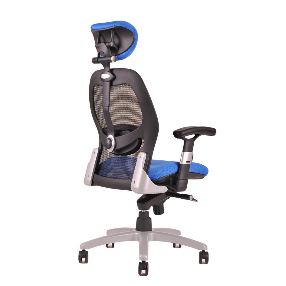 kancelarska zidle saturn net modra 2 - Delso - dětský, kancelářský a bytový nábytek