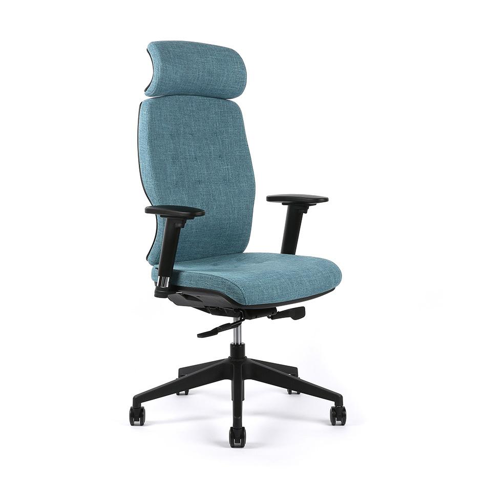 kancelarska zidle selene F83 modra - Delso - dětský, kancelářský a bytový nábytek