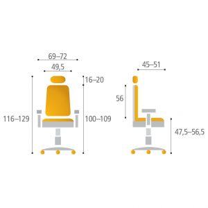 lacerta1 proporce - Delso - dětský, kancelářský a bytový nábytek