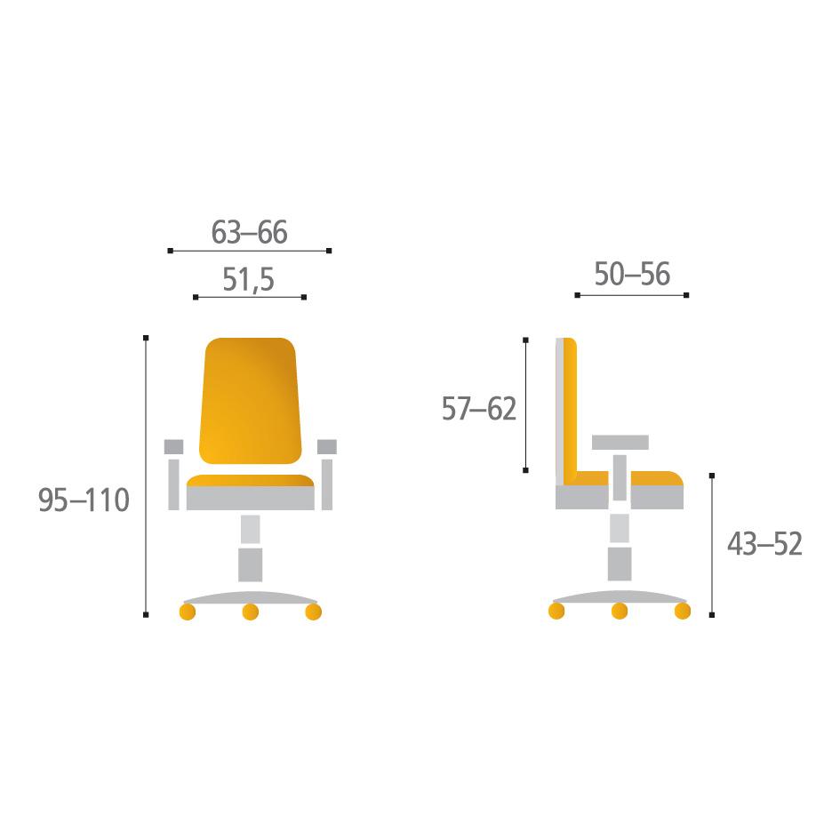 merope bp parametry - Delso - dětský, kancelářský a bytový nábytek