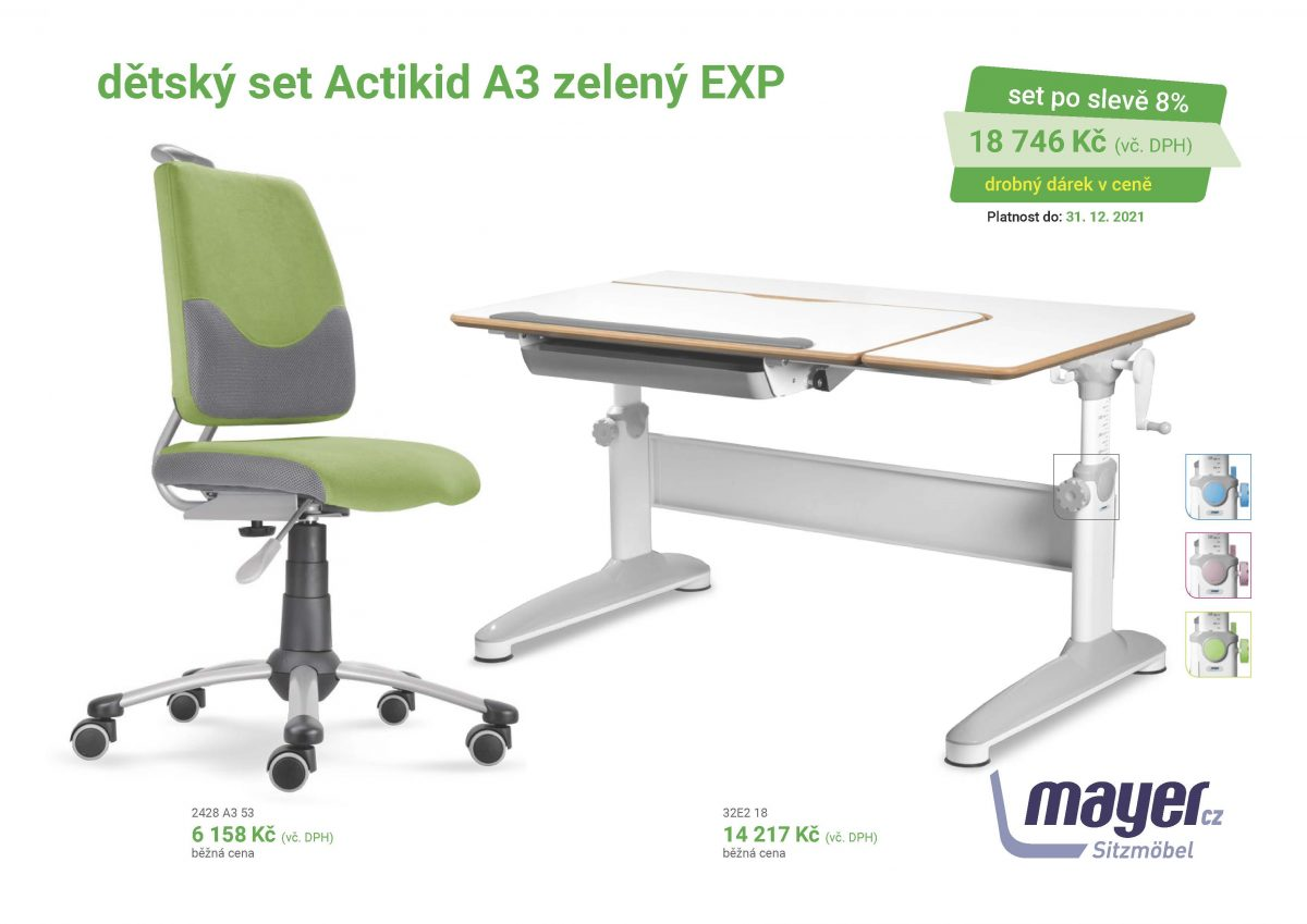 MAYER CZ KIDS set A3 zeleny EXP CZK 2021 05 scaled - Delso - dětský, kancelářský a bytový nábytek