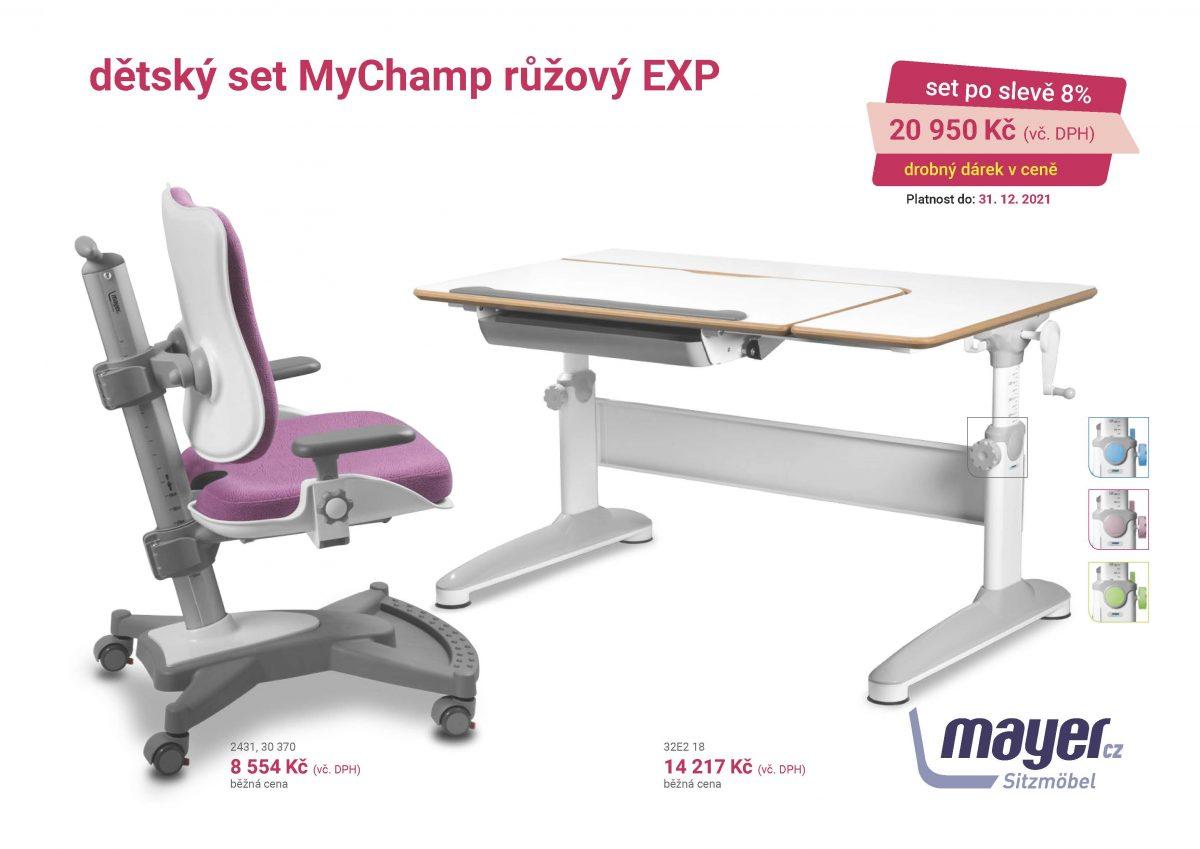 MAYER CZ KIDS set MyChamp ruzovy EXP CZK 2021 05 scaled - Delso - dětský, kancelářský a bytový nábytek