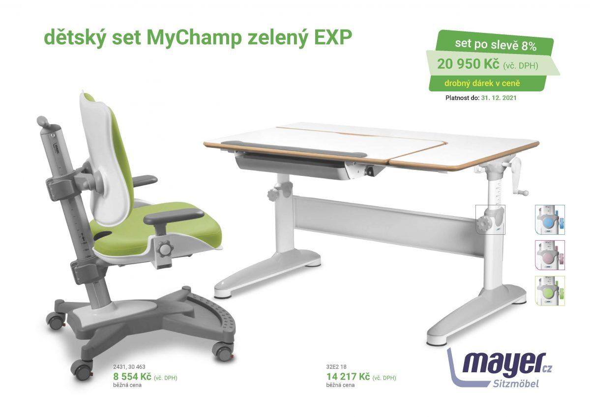 MAYER CZ KIDS set MyChamp zeleny EXP CZK 2021 05 scaled - Delso - dětský, kancelářský a bytový nábytek