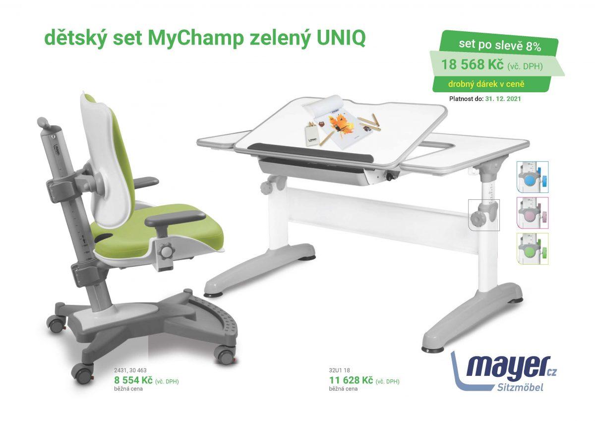 MAYER CZ KIDS set MyChamp zeleny UNIQ CZK 2021 05 scaled - Delso - dětský, kancelářský a bytový nábytek