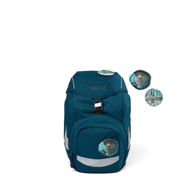 ergobag eco blue 4 - Delso - dětský, kancelářský a bytový nábytek