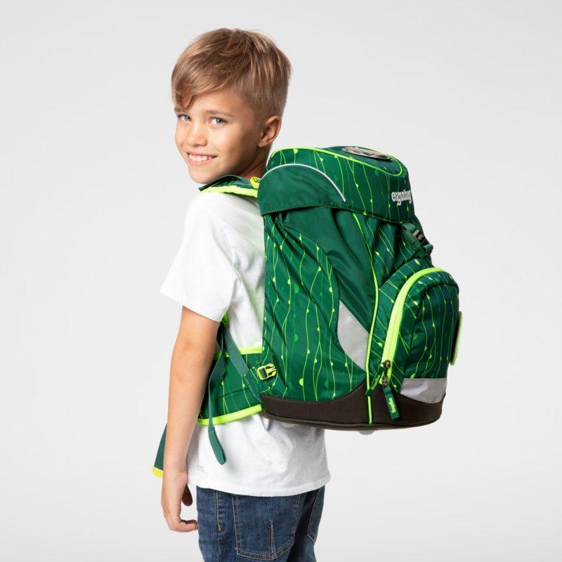 ergobag fluo zeleny 3 - Delso - dětský, kancelářský a bytový nábytek