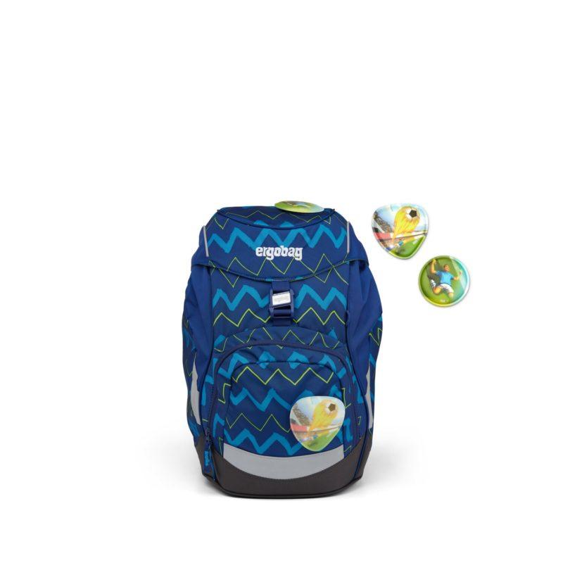 ergobag zig zag modry 4 - Delso - dětský, kancelářský a bytový nábytek